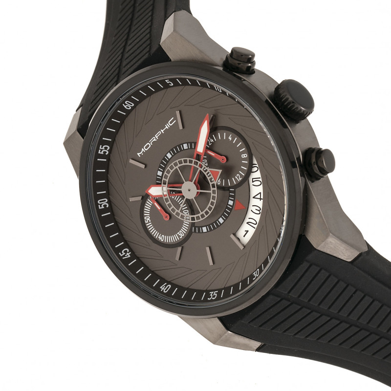 Morphic M72 Series Strap Watch - Black/Charcoal MPH7206