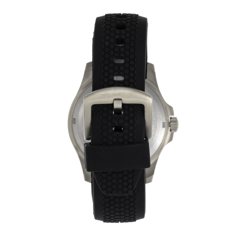 Morphic M80 Series Strap Watch w/Date - Silver/Black MPH8005