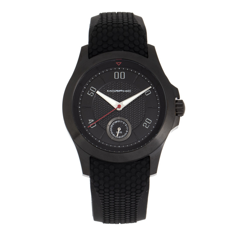 Morphic M80 Series Strap Watch w/Date - Black MPH8007