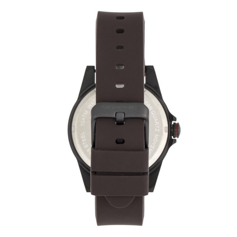 Morphic M84 Series Strap Watch - Dark Brown MPH8404