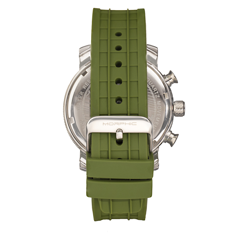 Morphic M90 Series Chronograph Watch w/Date - Green MPH9003