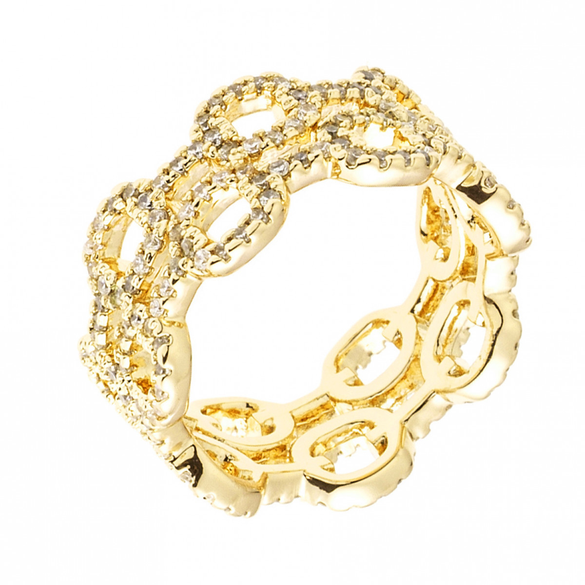 double bague or jaune
