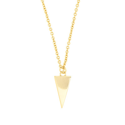 Sole Du Soleil  Collier En Couches Plaqué Or Blanc 18k Lupine SDS10809NO