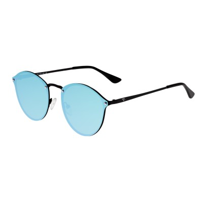 Sixty One Picchu Polarized Sunglasses - Black/Blue