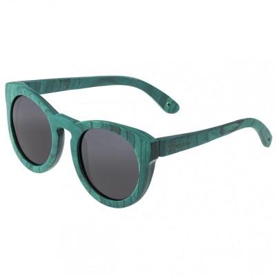 Spectrum Malloy Wood Polarized Sunglasses - Teal/Black