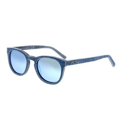 Spectrum North Shore Denim Polarized Sunglasses - Blue