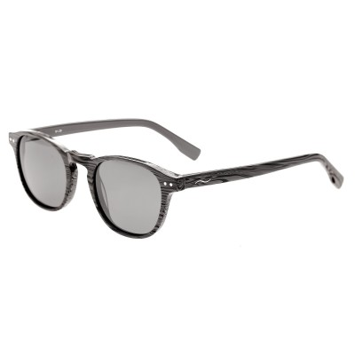 Simplify Walker Polarized Sunglasses - Grey Zebra/Black