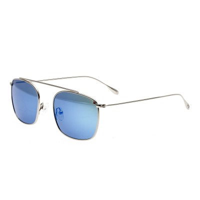 Simplify Collins Polarized Sunglasses - Silver/Blue-Green