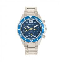 Breed Pegasus Bracelet Watch w/Day/Date - Red/Silver BRD8104