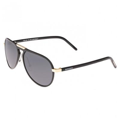 Breed Nova Aluminium Polarized Sunglasses - Red/Black BSG018RD