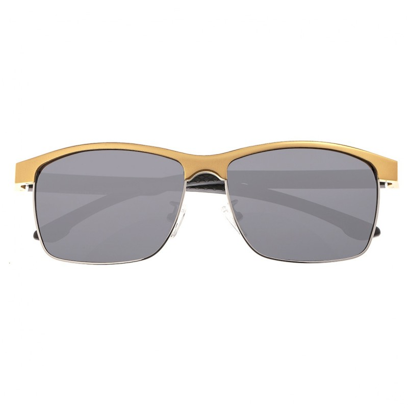 Breed Bode Aluminium Polarized Sunglasses - Gold/Black BSG026GD