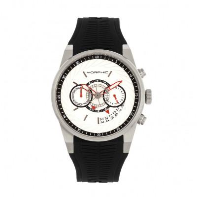 Morphic M72 Series Chronograph Men's Watch - Black/Charcoal MPH7206