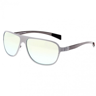 Breed Atmosphere Titanium and Carbon Fiber Polarized Sunglasses - Brown/Brown BSG004BN
