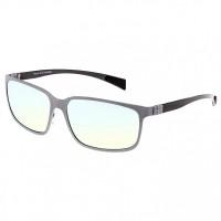 Breed Neptune Titanium and Carbon Fiber Polarized Sunglasses - Gunmetal/Black BSG008GM