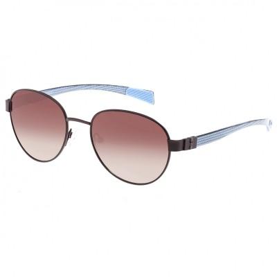 Breed Volta Titanium and Carbon Fiber Polarized Sunglasses - Gunmetal/Blue BSG009GM