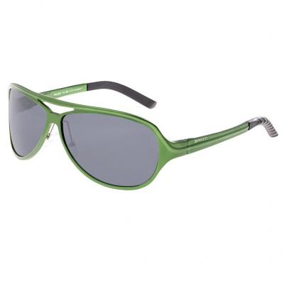 Breed Langston Aluminium Polarized Sunglasses - Gunmetal/Blue BSG012SR
