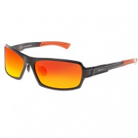 Breed Cosmos Aluminium Polarized Sunglasses - Blue/Black BSG013BL