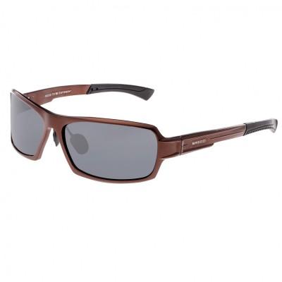 Breed Cosmos Aluminium Polarized Sunglasses - Black/Red-Yellow BSG013BK