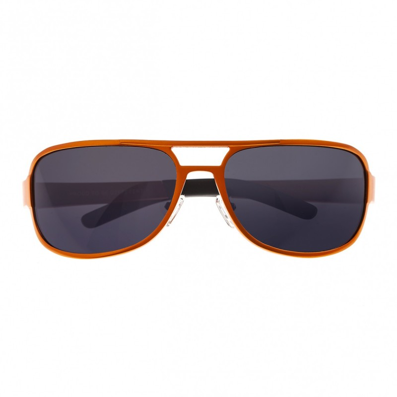 Breed Xander Aluminium Polarized Sunglasses - Orange/Black BSG014OG