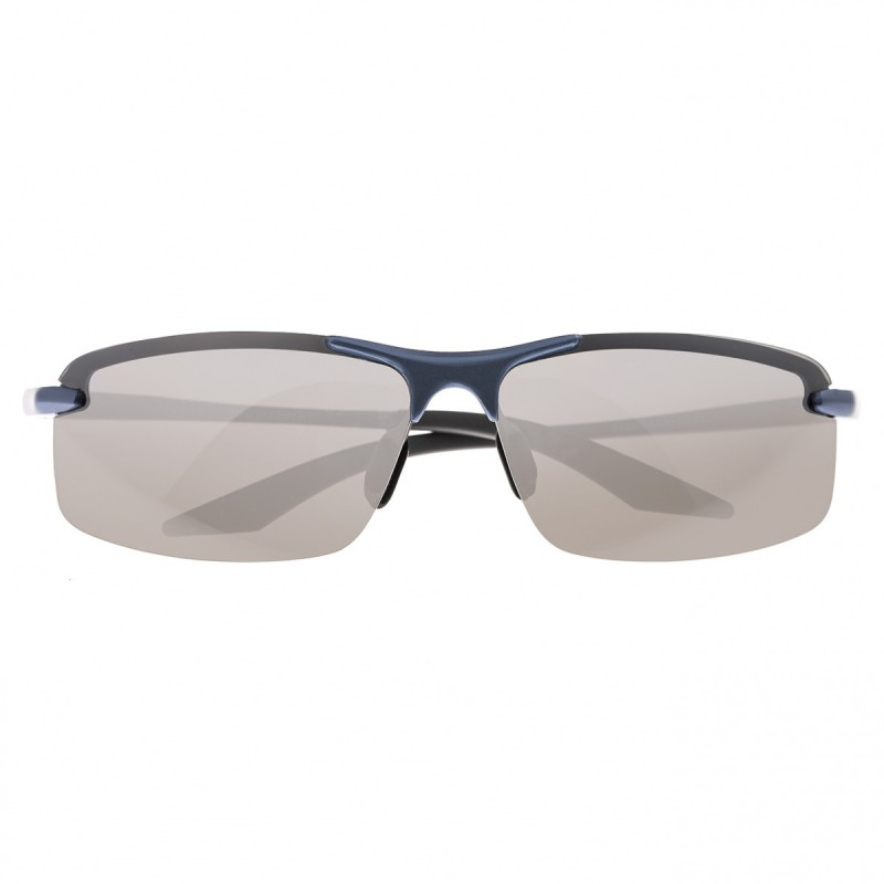 Breed Lynx Aluminium Polarized Sunglasses - Blue/Silver BSG015BL