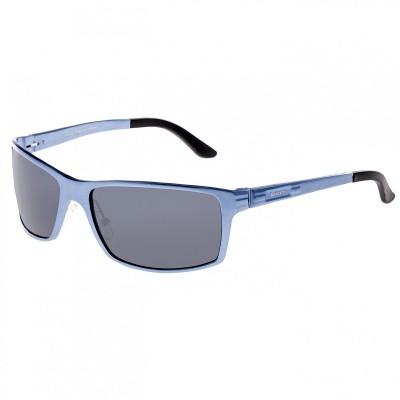 Breed Kaskade Aluminium Polarized Sunglasses - Black/Black BSG016BK