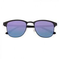 Breed Archer Polarized Sunglasses - Black/Blue-Green BSG050BK